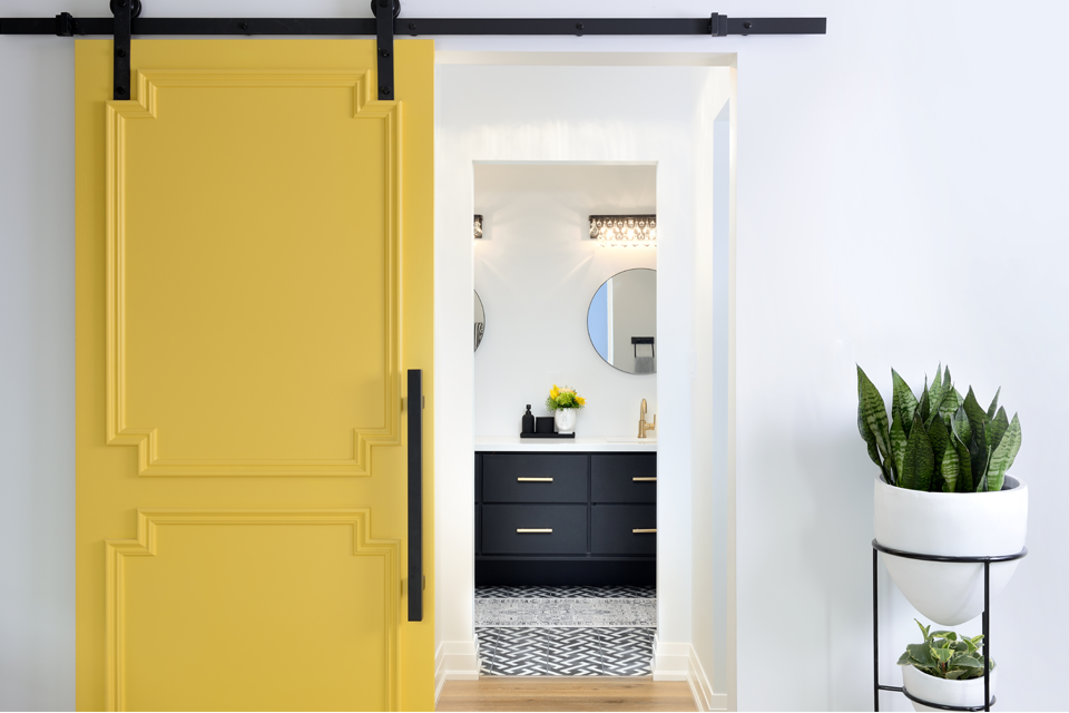 Yellow Door Master Bedroom Color Home Renovation